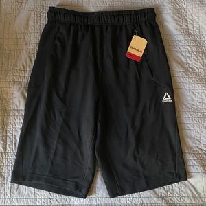 NWT Men's slim black training shorts